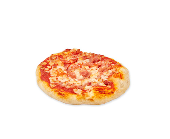 Mini Pizza Jamon Bacon 23u 155g