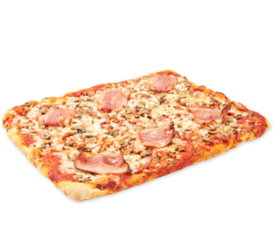 Pizza Bacon/Champinon 30x40 6u 1300g