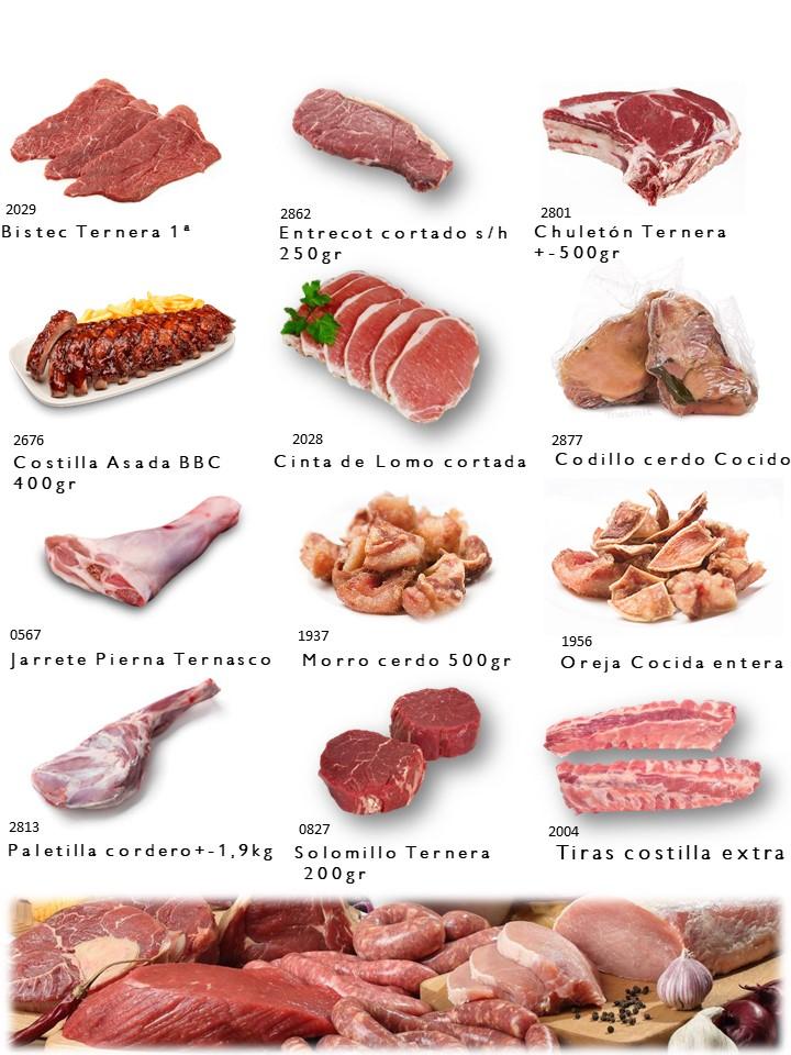 Ternera, Cerdo y Cordero