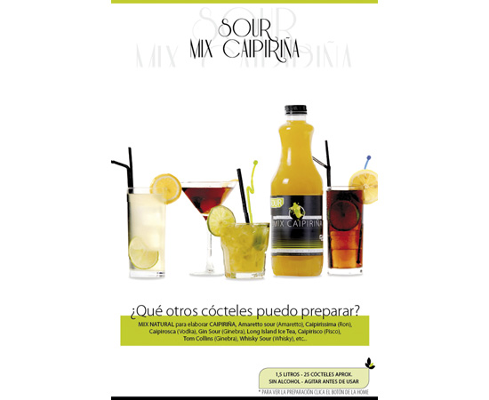 Sour de Mix Caipirina