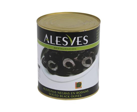Aceitunas Rodaja Negra Alveses
