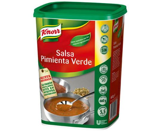 Salsa Pimienta Verde Knorr