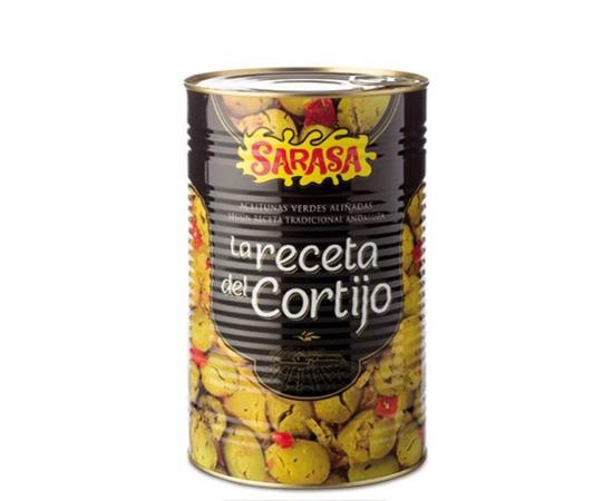 Aceitunas Receta Cortijo Sarasa 3kg